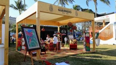 Photo of ARTESANOS DE #GUERRERO EXPENDEN SUS PRODUCTOS EN EL ABIERTO MEXICANO DE TENIS 2017