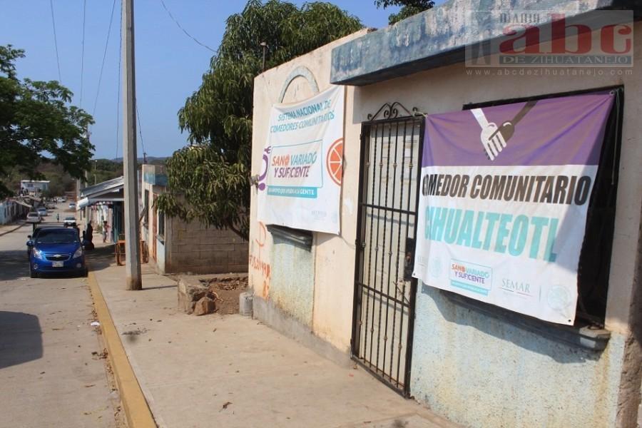 Comedor comunitario de Cihuateotl permanece cerrado