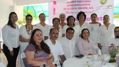 Photo of Rinden protesta Mujeres Asociadas Empresarialmente de la Costa Grande