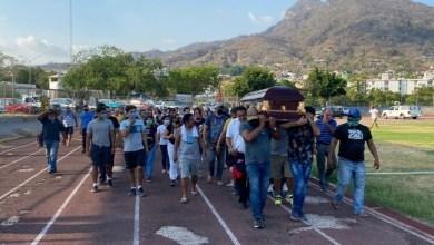 Photo of Dieron familiares y amigos  último adiós David Ocampo en la Unidad Deportiva