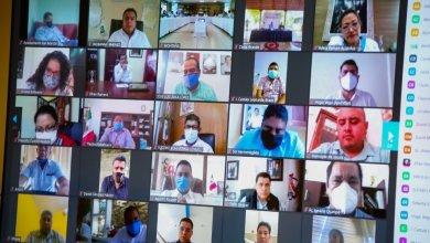 Photo of Mantiene gobernador Astudillo revisión de temas y comunicación constante con las y los alcaldes de los 81 municipios del estado