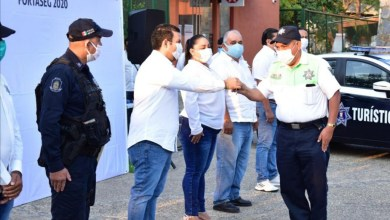 Photo of Presidente Jorge Sánchez entrega patrullas a Seguridad Pública