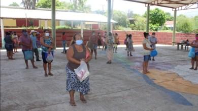 Photo of Se instalaron comedores comunitarios en las comunidades de Coyuquilla norte y sur en Petatlán