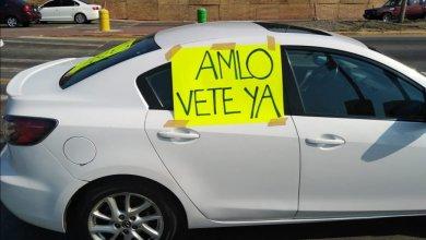 Photo of Rueda en Acapulco segunda caravana de autos en contra de López Obrador