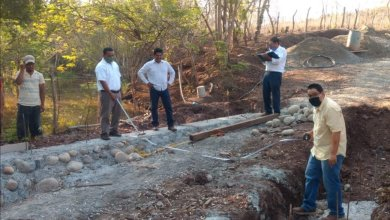 Photo of Presidente Crescencio Reyes supervisa construcción de segundo vado en La Salada