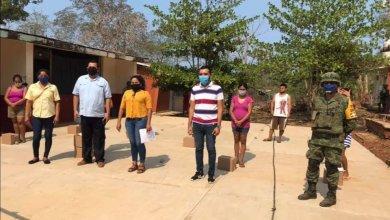 Photo of DIF lleva apoyo alimentario a comunidades unionenses