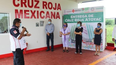 Photo of Inaugura Mercedes Calvo delegación de la Cruz Roja en Atoyac