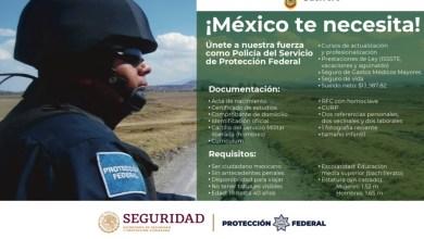 Photo of Se invita a los guerrerenses al reclutamiento para trabajar como Policias de Protección Federal