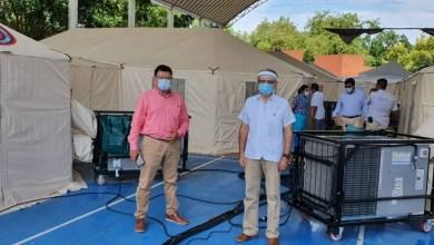 Photo of Supervisan funcionamiento y atención de la Unidad Móvil de Covid-19 instalada en el Hospital de Zihuatanejo