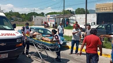 Photo of Daños materiales y tres lesionados entre ellos, una menor fue el saldo de un accidente automovilístico registrado en el boulevard de Atoyac