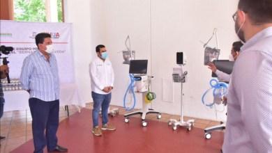 Photo of Gobierno estatal y municipal entregan equipo médico al Hospital General para área Covid-19