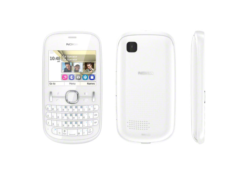 Nokia Téléphone portable Asha 200 Double sim