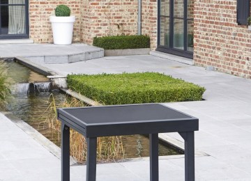 Table Jardin Aluminium Modulo | Table Jardin Modulo 6 à 10 Personnes