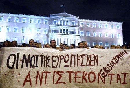 Apoyo a Syriza