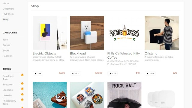 Product Hunt Shop