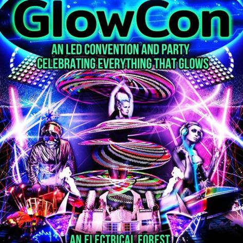 GlowCon SF Flyer