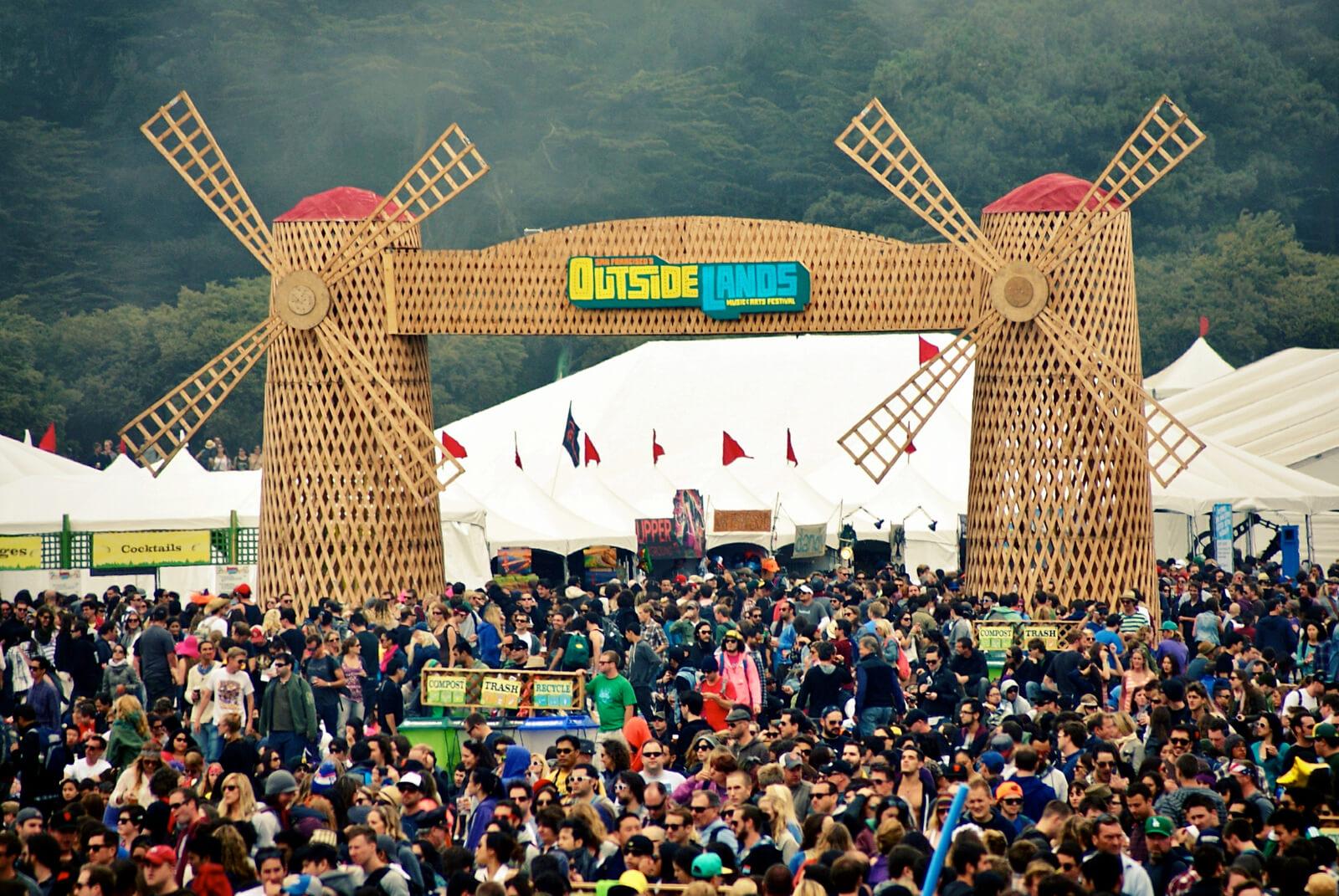 Outside Lands Festival scultpure