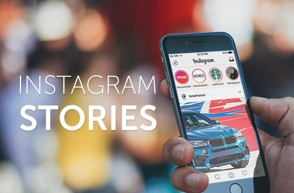Instagram Stories with Label