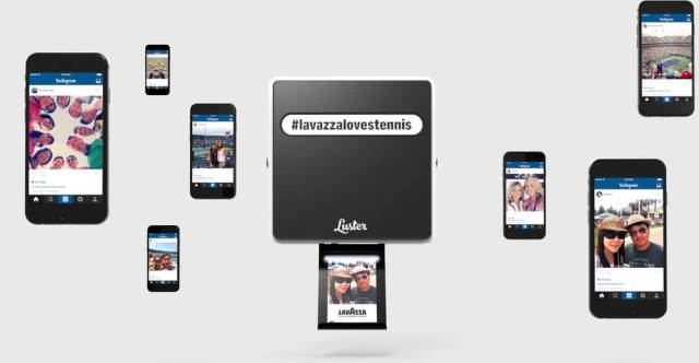 Luster Hashtag Instagram Printer