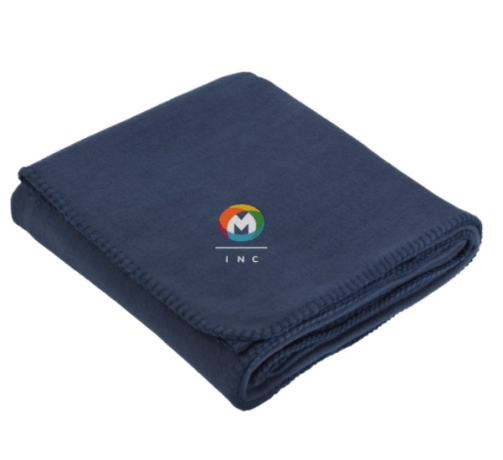 custom corporate blanket gift