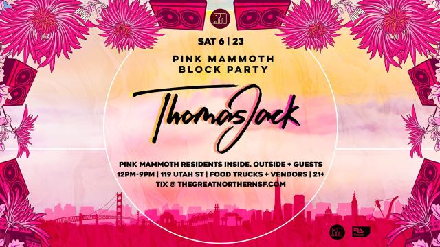 Pink Mammoth Block Party Facebook Coverphoto