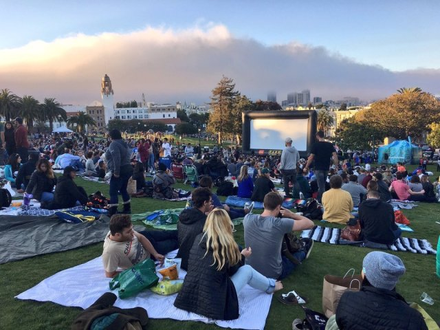 Free films - SF weekend lineup