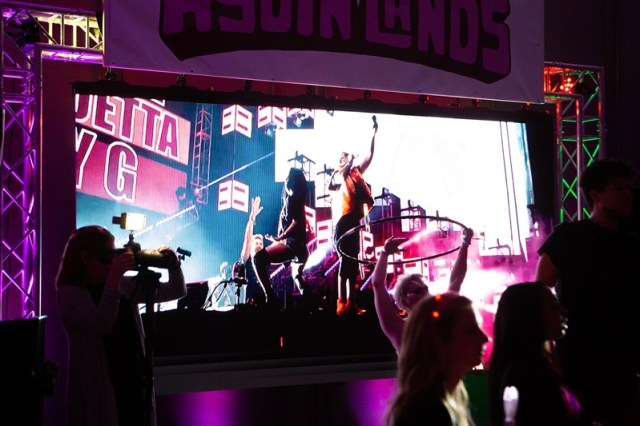 Aydin Lands Festival Stage