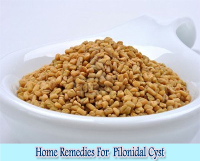 Fenugreek : Home Remedies For Pilonidal Cyst