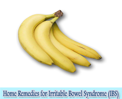 Bananas : Home Remedies for Irritable Bowel Syndrome (IBS)
