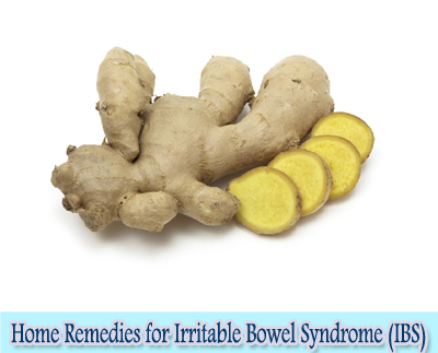 Ginger : Home Remedies for Irritable Bowel Syndrome (IBS)