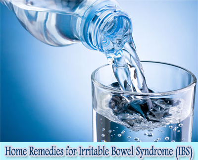 Water : Home Remedies for Irritable Bowel Syndrome (IBS)
