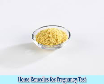 Mustard Powder : Home Remedies for Pregnancy Test