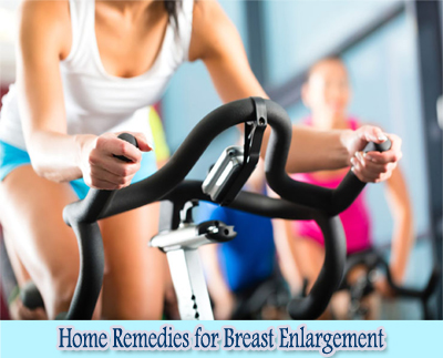 Exercises : Home Remedies for Breast Enlargement