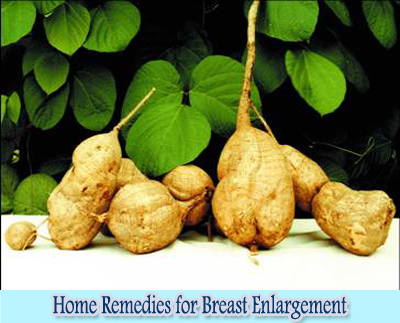 Pueraria Mirifica : Home Remedies for Breast Enlargement
