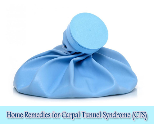 Cold compress : Home Remedies for Carpal Tunnel Syndrome