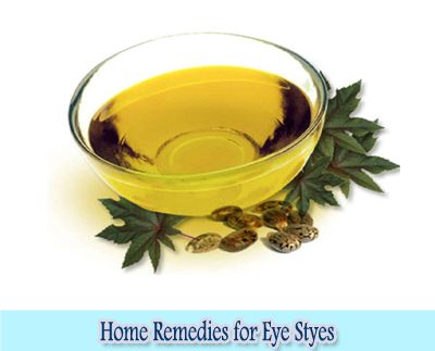 Castor Oil : Home Remedies for Eye Styes