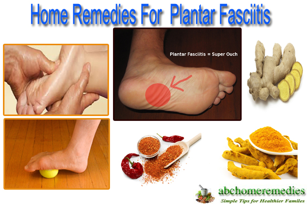 Home Remedies for Plantar Fasciitis
