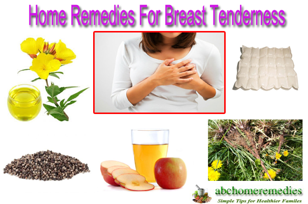 Home Remedies For Breast Tenderness