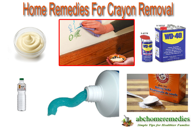 Home Remedies For Crayon Removal