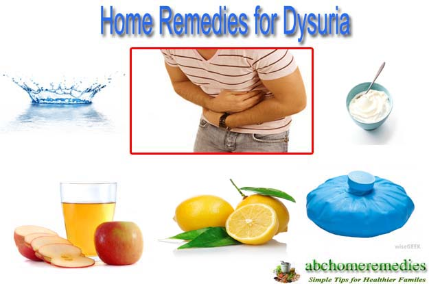 Home Remedies for Dysuria