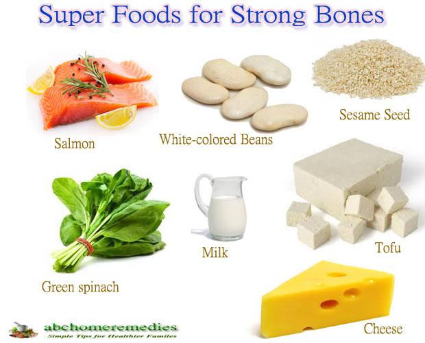 Top Ten Super Foods for Strong Bones