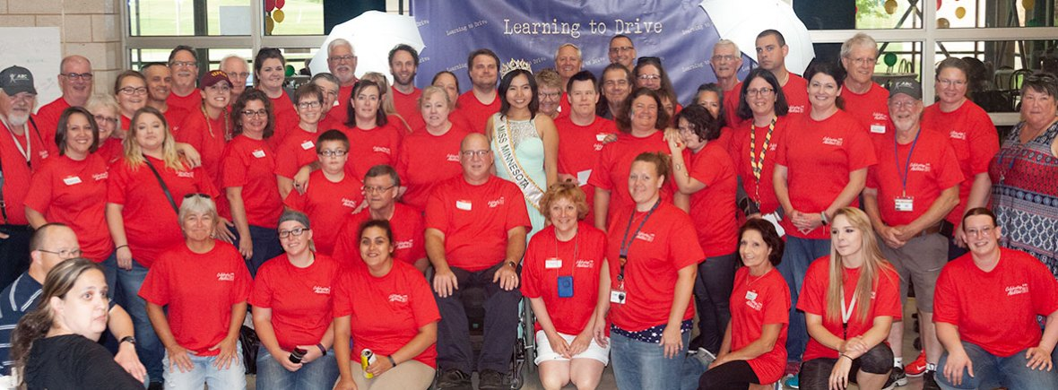 Celebrating Abilities 2018 group photo.