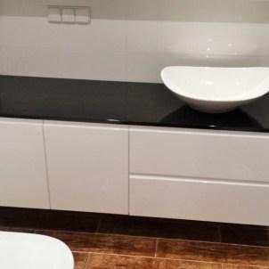 meble na wymiar do kuchni zlewozmywak misa detal czerń biel