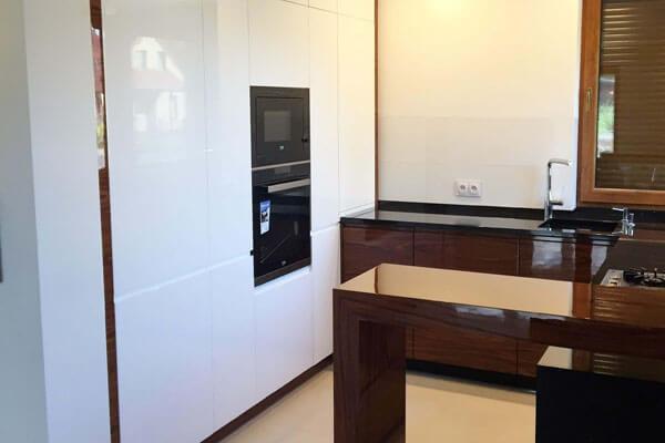 Kuchnie na wymiar w domu jednorodzinnym - Wyszków
