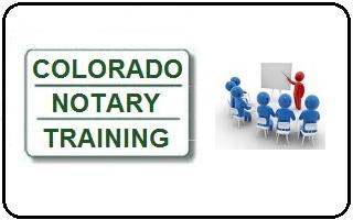 Colorado Notary Training  Notary Colorado Springs