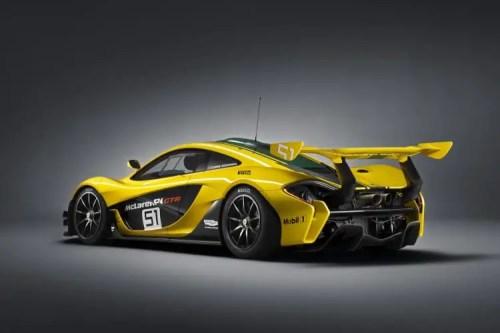 vue 3-4 arriere McLaren P1 GTR