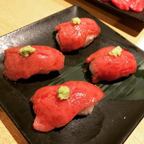 グルメ | 肉寿司 | 高品質で安いネイルサロンABCネイル 北千住店