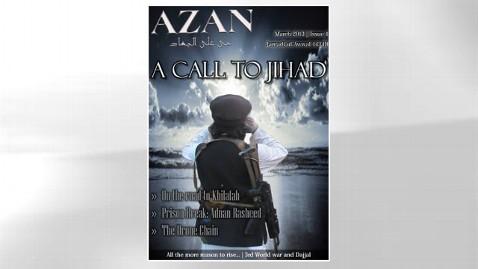 ht azan magazine jef 130508 wblog New Terrorist Magazine Targets Obama, Drones