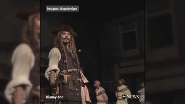 Johnny Depp Videos Abc Video Archive