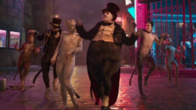 Mee-ouch! 'CATS' the big victor at this year's Razzies